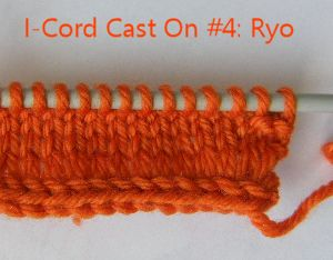 I-Cord Cast On Ryo finished 20150822
