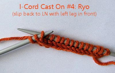 I-Cord Cast On Ryo step 1 20150821
